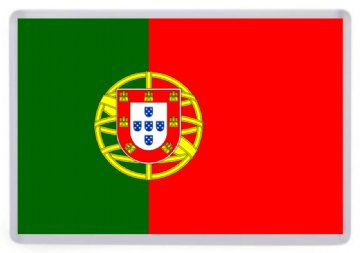 Portugal Flag Fridge Magnet